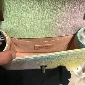 CHANEL Bags - RARE Chanel Ivory Rainbow Boy Bag 235399a098416